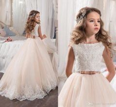 Cute bridesmaid dresses for little girls ideas 26